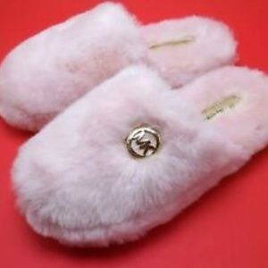 CHRISTMAS GIFT! MICHAEL KORS PINK SLIPPERS